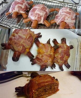 Turtle Burgers yum yum
