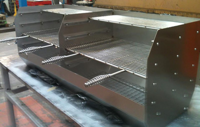 Custom Made Charcoal Grills
