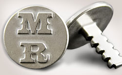 Grill Charms close up.