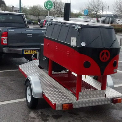 VW Camper Smoker