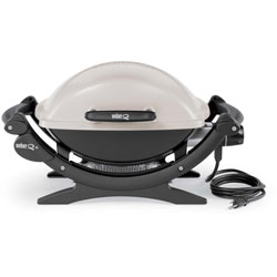 The Electric Weber Q Grill