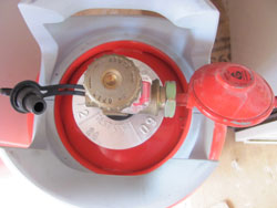 LPG Tank Valve And Regulator