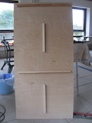 Build Your Own Homemade Smoker - The Rear Panel Design