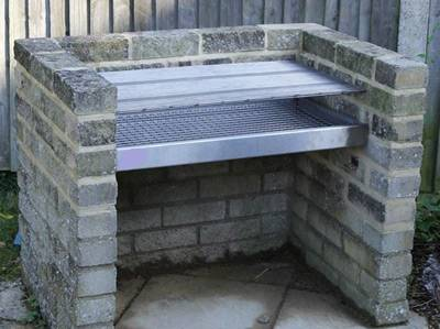 Our Step By Guide Will Help You Build A Brick Bbq Grill Like This One