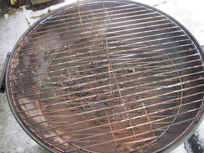 These Nickel Or Chrome Plated Steel Grills Looked Sparkling In The But One Year Especially Wet British Climate And Plating Has