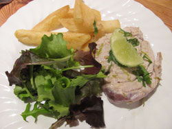 Here The Plated Grilled Tuna Steak Recipe