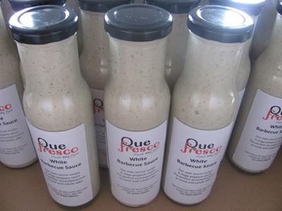 Our Home Bottled Qué Fresco White BBQ Sauce