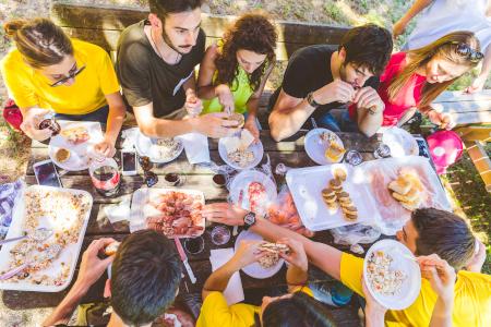 Lots of Italian menu ideas make for a BBQ feast