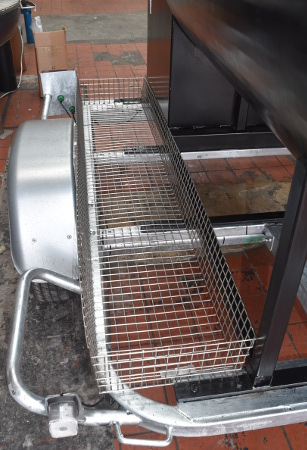 Commercial smokers UK built on a rust proof galvanised chassis