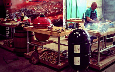 Outdoor barbecue catering UK