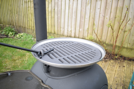 Ozpig Cast Iron Grill Grate and Drip Tray