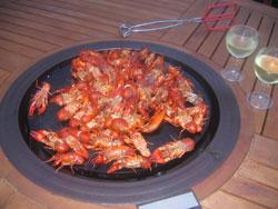 Seared Crayfish