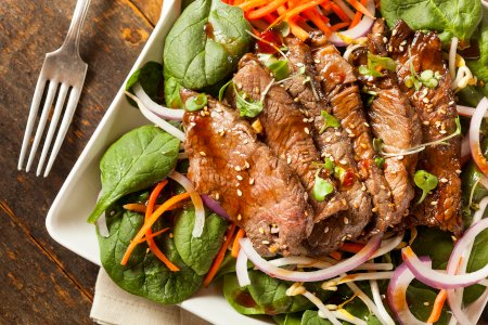Thai Roast Beef Barbecue Salad