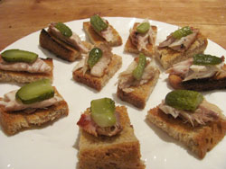 Smoked Mackerel Appetizer Idea