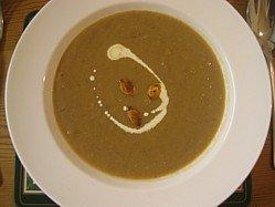 Smoked Pumpkin Soup Piping Hot