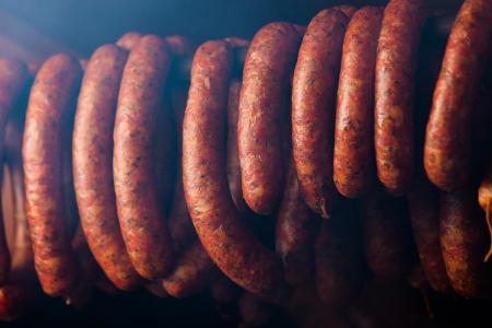 Smoking my Spanish style chorizo sausage recipe