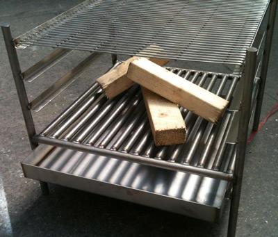 Stainless Steel Braai Fire Pit