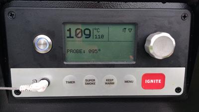 Traeger Timberline 850 control panel