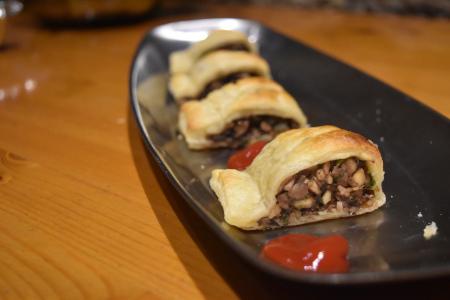 Vegan Mini Sausage Rolls